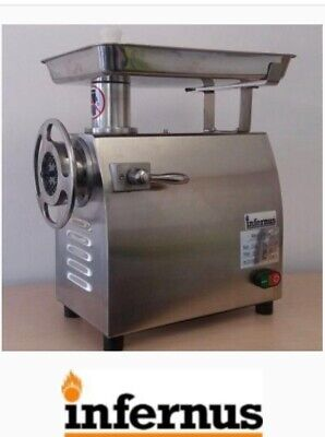 Vergo High Quality Commercial Butcher's Meat Grinder/Mincer 245 Kg/hr production