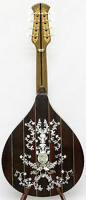 Arch back Mandolin, Solid spruce top rosewood, classical MOP inlay, NFMIA35