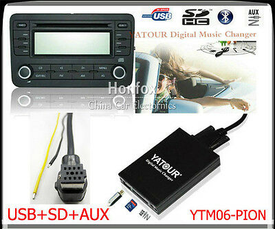 Yatour Digital CD Changer for Pioneer DEH-P900 KEH-P6200-W MEH-P055 DEH88 USB SD