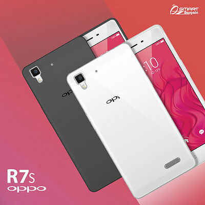 Soft TPU Gel Jelly Rubber Case Cover For oppo  R7s + Screen Guard