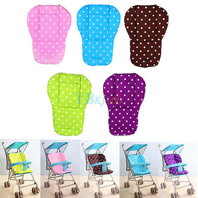 Infant Baby Trolley Stroller Pram Pushchair Soft Seat Padding Liner Pad Cushion
