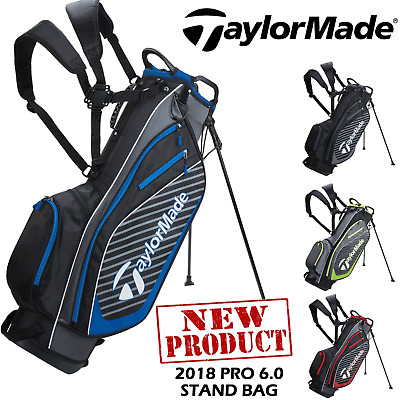 Taylormade Stand Bag Pro 6.0 Pro Carry Bag New 2018 Double Strap Stand Bag