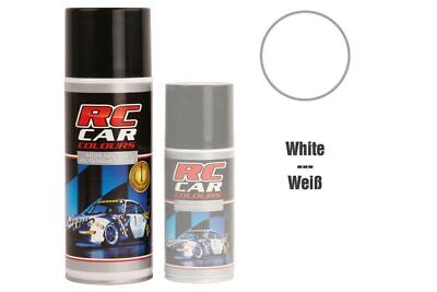 RC Car Colours - Lexan Spray Weiß -groß- 400ml Lexanfarbe (3.98 Euro pro 100 ml)