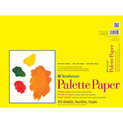 "Strathmore Palette Paper Pad 12""X16"" 40 Sheets 365120"