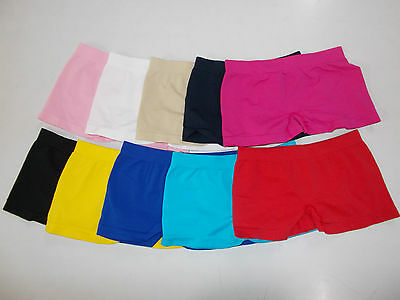 3 Shorts Slip Hot Pants Bambina In Microfibra Tgl Unica Sport Intimo Colori