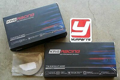 King Race Bearings Main Rod Thrust Set XP Series STD Size Honda Acura B16 B18 LS