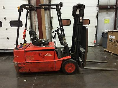 Used Forklift with charger