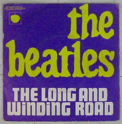 Beatles 45 tours The long and winding road 1970