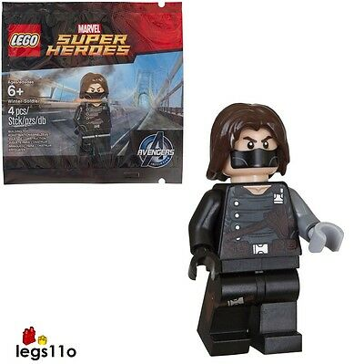 OFFICIAL LEGO Winter Soldier minifigure NEW & SEALED Polybag
