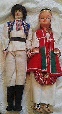 "Vintage International Costume Doll 11"" and 12"""