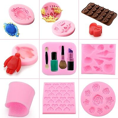 NEW Silicone DIY Tools Cake Decorating Baking Fondant/Chocolate Mould Sugar Mold