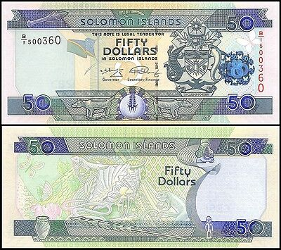 Solomon Islands 50 Dollars, 2009, P-29f, UNC