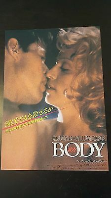 Vintage Madonna Japanese Body Of Evidence Movie Advertisement Magazine Tour LP