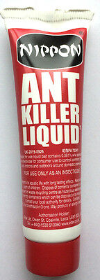 Nippon Ant Insect Killer Liquid Gel 25g Home & Garden Black Ant Control Free P&P