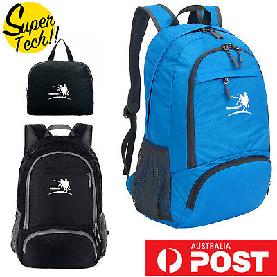 Foldable Waterproof Outdoor Sports Backpack Camping Hiking Travel School Bag