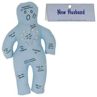 New Husband Voodoo Doll X Rated Fun Party Hens Night Naughty Bridal Shower Gift