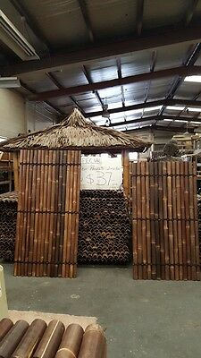 Bamboo Panel Fenceing 1.8m tall x 1m wide $37.00 AVAILABLE NOW  Dandenong