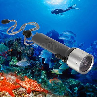 Submarina LED 1200LM Linterna Buceo Antorcha Diving Flashlight Buceo Submarino