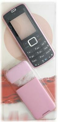 New!! Pink and Black Housing /Fascia /Cover /Case for Nokia 3110c / 3110 Classic