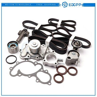 Fits TOYOTA 3.4L LITER 5VZFE V6 COMPLETE 15pcs TIMING BELT & WATER PUMP KIT