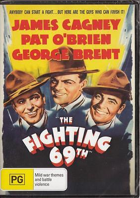 The Fighting 69Th - James Cagney - New & Sealed Region 4 Dvd Free Local Post