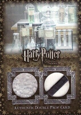 Harry Potter Order of the Pheonix Update Test Tubes & Stand P12 Prop Card