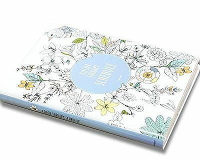 Color Therapy Coloring Books Monthly Weekly Daily Planners Academic Planner
