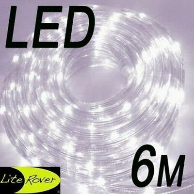 Led 6M Rope Light With Power Cord Cool White