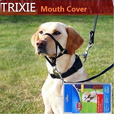Quick Fit Muzzle for Pets Bark Stop Pet Muzzle Safety Dog Mouth Cover Mask