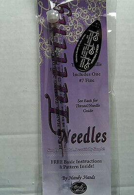 Tatting Needle  Size #7  Includes Basic Instructions & Pattern