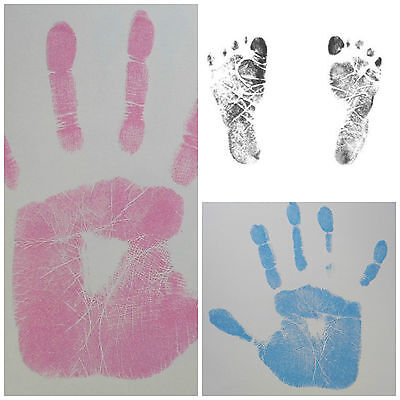 Inkless Hand & Foot Print Kit Newborn Baby Keepsake - IDEAL FOR HOSPITAL BAG!
