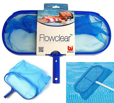 Bestway Swimming Pool Skimmer Aqua Deep Leaf Net Cleaner Spas Hot Tub Flowclear