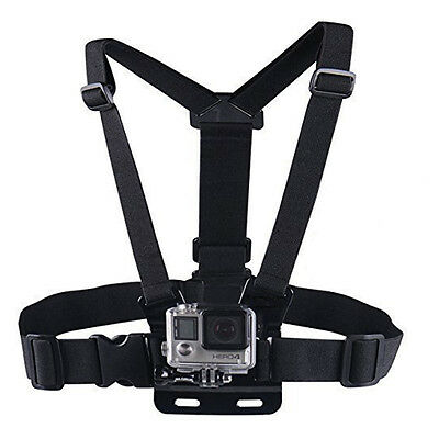GoPro Chest Chesty Mount Harness for GoPro Hero 4 3+ 3 2 Session Xiaomi Strap