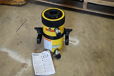 "Enerpac Rrh-606 60 Ton Hollow Cylinder  6"" Stroke Double Acting New"