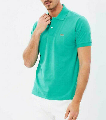 more photos 13414 f3aa1 MENS LACOSTE POLO Shirt XL Papeete Green Classic Fit 100% Cotton NEW