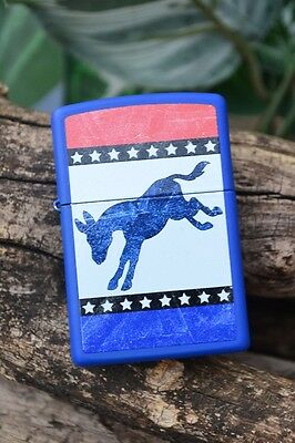 Zippo Lighter - Democratic Donkey - Democrat Party - Republican - Model: 29166