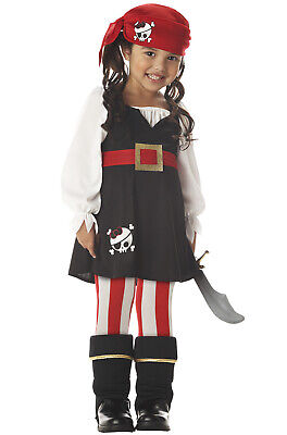 Brand New Precious Little Pirate Toddler Halloween Costume