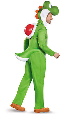 Brand New Adult Nintendo Super Mario Brothers Yoshi Deluxe Adult Costume