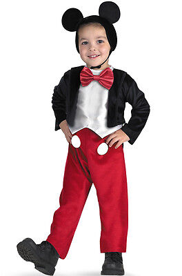 Brand New Disney Mickey Mouse Deluxe Child Costume