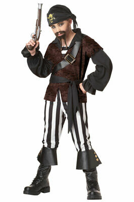 Brand New Pirate Swashbuckler Child Halloween Costume