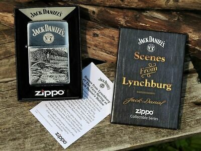 Zippo Lighter - Jack Daniels Scenes from Lynchburg - Limited Edition - Series 7