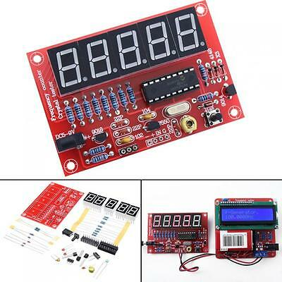 1Hz-50Mhz 5 Digits LED Display Frequency Counter Meter Kits Crystal Oscillator