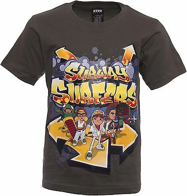 Officially Licensed   SUBWAY SURFERS   Youth T-Shirt   Age 5-6 Years