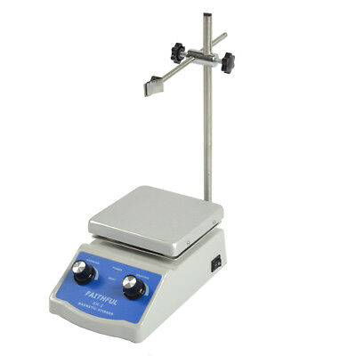 Sale Price Hot Plate Magnetic Stirrer Dual Control +1 inch Stir Bar Top Quality