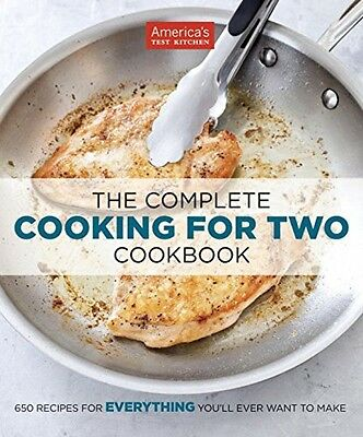 The Complete Cooking For Two Cookbook, New, Free Shipping