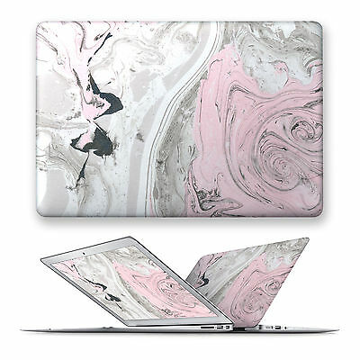 MARBLE HARD FRONT Top Case Cover For Apple Mac Macbook Air Pro 11 12