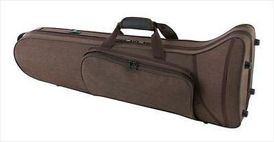 GEWA Compact Bass Trombone Lightweight Case, Brown **NEW**