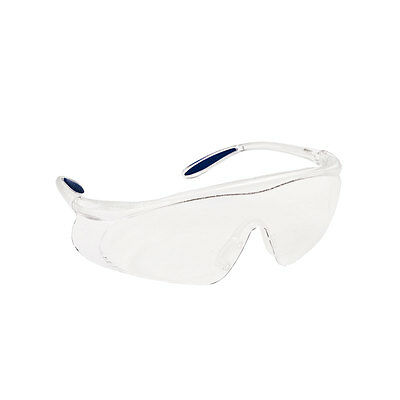 2x Lab Medical Eyewear Clear Safety Eyes Protective Goggles Glasses