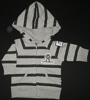 NRL Jacket Official Licensed PANTHERS Baby Infant Hooded Hoodie Top Size 0 NEW