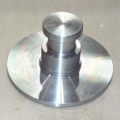 "King Pin - Weld On For 5Th Wheel Trailer - 2"" Collar - 3/8"" Bolster Plate"